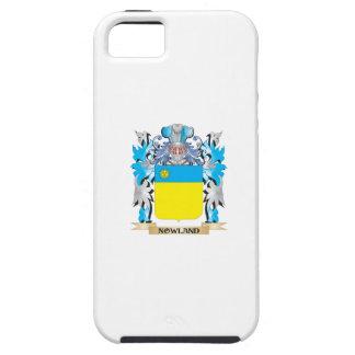 Escudo de armas de Nowland - escudo de la familia iPhone 5 Case-Mate Cobertura