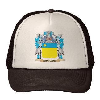 Escudo de armas de Nowland - escudo de la familia Gorras De Camionero