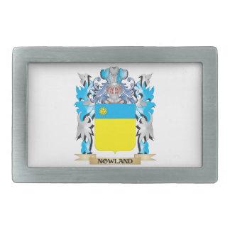 Escudo de armas de Nowland - escudo de la familia Hebillas De Cinturón Rectangulares