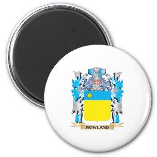 Escudo de armas de Nowland - escudo de la familia Imán Para Frigorifico