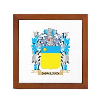 Escudo de armas de Nowland - escudo de la familia