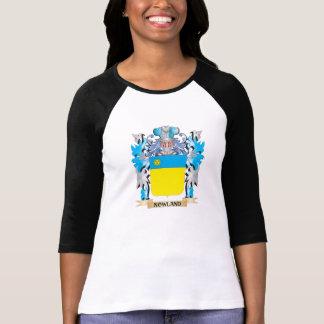Escudo de armas de Nowland - escudo de la familia Camisetas