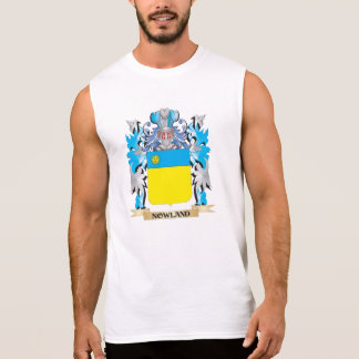 Escudo de armas de Nowland - escudo de la familia Camisetas Sin Mangas