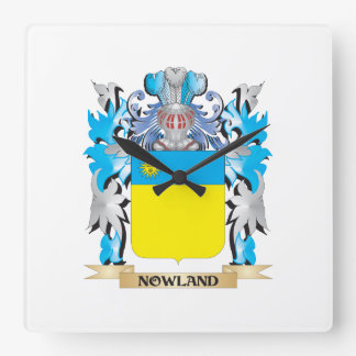Escudo de armas de Nowland - escudo de la familia Reloj