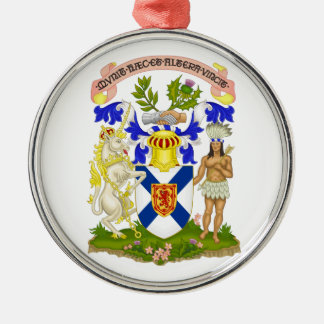 Escudo de armas de Nueva Escocia (Canadá) Ornamento De Reyes Magos