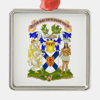 Escudo de armas de Nueva Escocia (Canadá) Adornos De Navidad