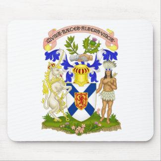 Escudo de armas de Nueva Escocia (Canadá) Alfombrilla De Ratones