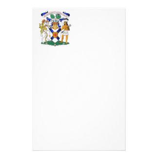 Escudo de armas de Nueva Escocia Personalized Stationery