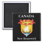 Escudo de armas de Nuevo Brunswick Iman De Frigorífico