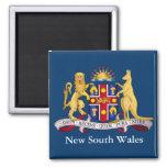 Escudo de armas de Nuevo Gales del Sur Imán
