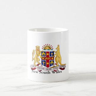 Escudo de armas de Nuevo Gales del Sur Taza Clásica