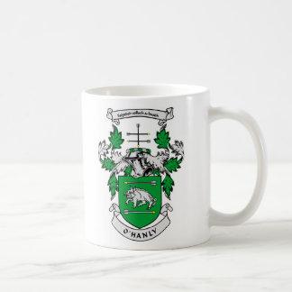 Escudo de armas de O HANLY Taza De Café