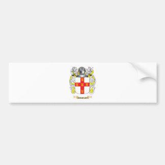 Escudo de armas de O Hurley escudo de la familia Pegatina De Parachoque