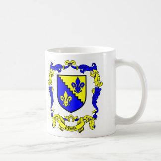 Escudo de armas de O SHEA Taza De Café