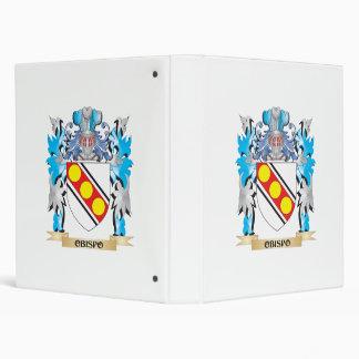 Escudo de armas de Obispo - escudo de la familia