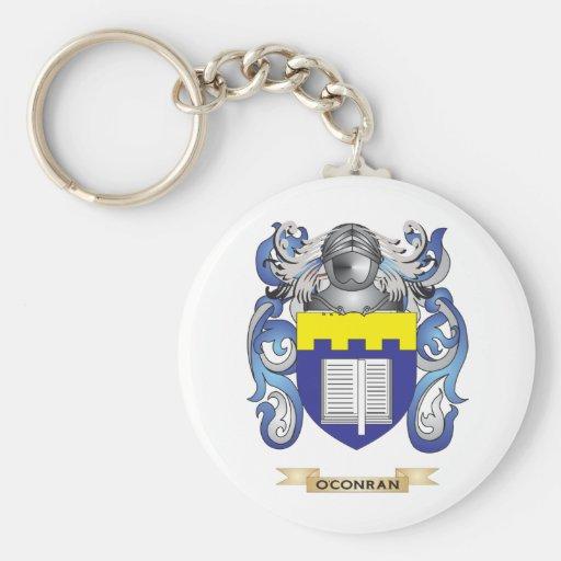 Escudo de armas de O'Conran (escudo de la familia) Llavero Personalizado