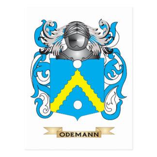 Escudo de armas de Oden (escudo de la familia) Tarjeta Postal