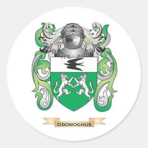 Escudo de armas de O'Donoghue (escudo de la Pegatina Redonda