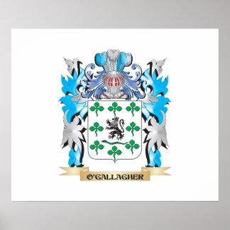 Escudo de armas de O'Gallagher - escudo de la Impresiones