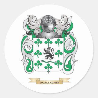 Escudo de armas de O'Gallagher (escudo de la Etiqueta Redonda