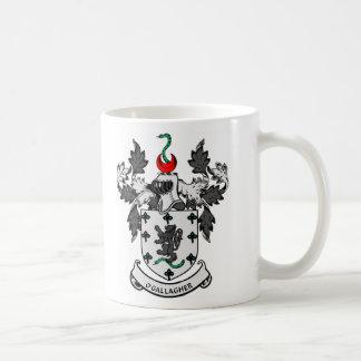 Escudo de armas de O'GALLAGHER Taza De Café