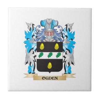 Escudo de armas de Ogden - escudo de la familia Teja