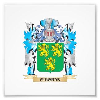 Escudo de armas de O'Horan - escudo de la familia Impresión Fotográfica