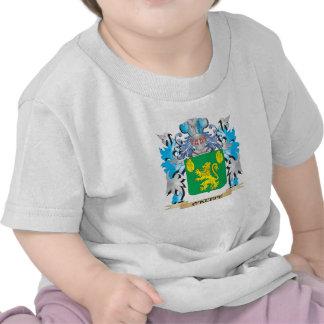Escudo de armas de O'Keefe - escudo de la familia Camisetas