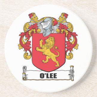 Escudo de armas de O'Lee Posavasos Para Bebidas