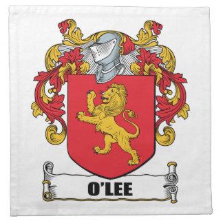 Escudo de armas de O'Lee Servilletas
