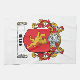 Escudo de armas de O'Lee Toallas De Mano