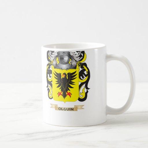 Escudo de armas de Olguin (escudo de la familia) Taza Clásica