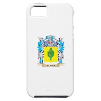 Escudo de armas de Olivas - escudo de la familia iPhone 5 Protectores