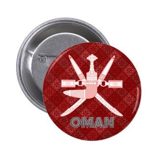 Escudo de armas de Omán Pins