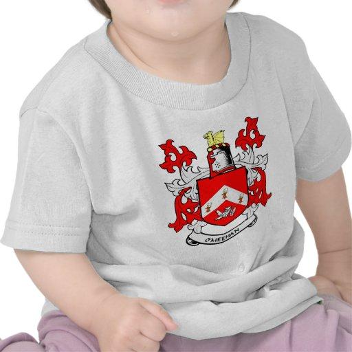 Escudo de armas de O'MEEHAN Camiseta