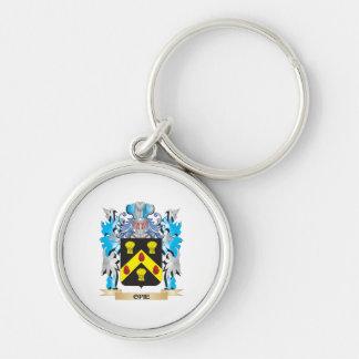 Escudo de armas de Opie - escudo de la familia Llaveros Personalizados