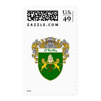 Escudo de armas de O'Reilly (cubierto) Franqueo