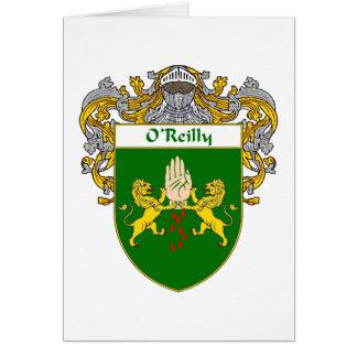 Escudo de armas de O'Reilly (cubierto) Tarjeton