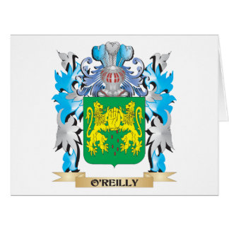 Escudo de armas de O'Reilly - escudo de la familia Tarjeton