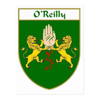 Escudo de armas de O'Reilly/escudo de la familia Tarjetas Postales