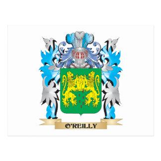 Escudo de armas de O'Reilly - escudo de la familia Postal