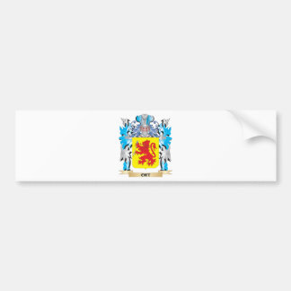 Escudo de armas de Ort - escudo de la familia Pegatina Para Coche