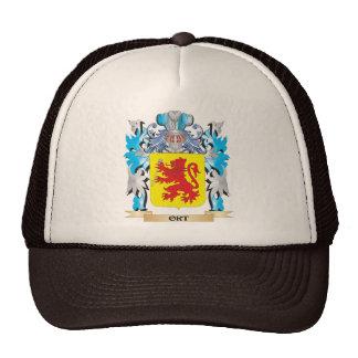 Escudo de armas de Ort - escudo de la familia Gorros Bordados