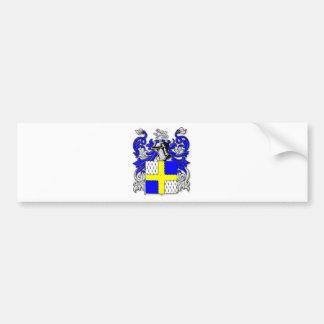 Escudo de armas de Osborne Etiqueta De Parachoque