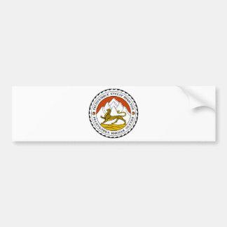 Escudo de armas de Osetia del Sur Pegatina Para Auto