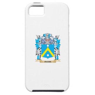 Escudo de armas de Oudin - escudo de la familia iPhone 5 Case-Mate Protector