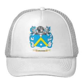Escudo de armas de Oudin (escudo de la familia) Gorras