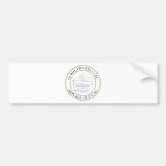 Escudo de armas de Palau Pegatina Para Coche