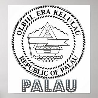 Escudo de armas de Palau Impresiones