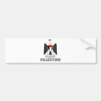 Escudo de armas de Palestina Pegatina De Parachoque